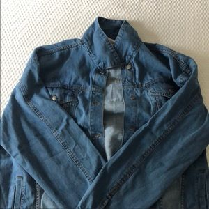 Oversized Bnwt denim jacket